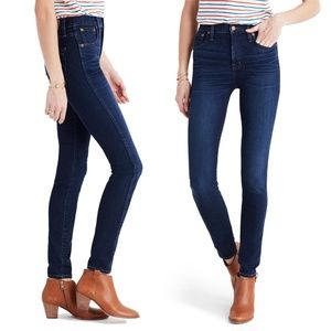 MADEWELL 10 High Riser Skinny Jeans Size 27 6401